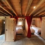 Les lits clos du gîte l'Etable